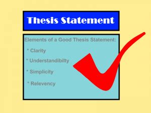 Good thesis for american revolution essay